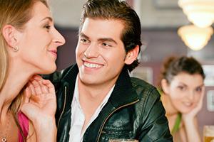 Verunsicherung beim Flirten