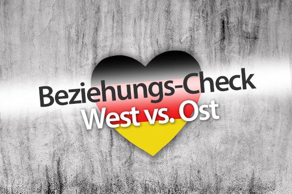 Beziehungs-Check Ost vs. West zum Tag der Deutschen Einheit