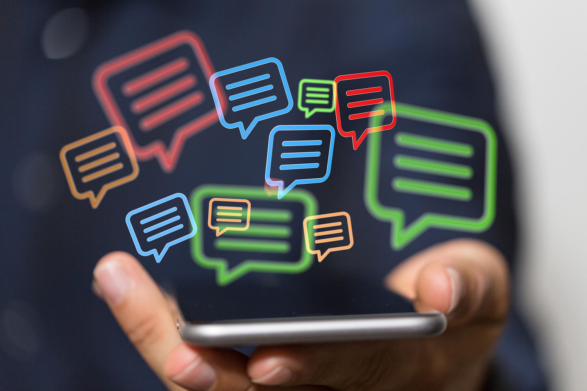 Sexting - Dirty Talk per Smartphone